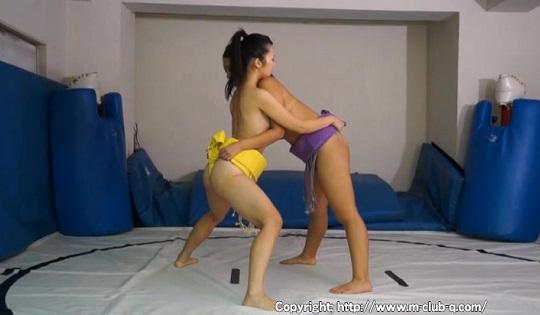 女子相撲の画像